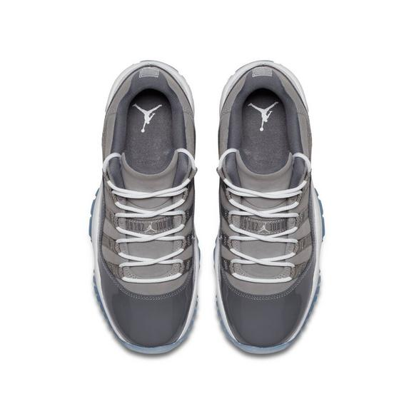 Jordan Retro 11 Low Cool Grey Grade School Kids Shoe Hibbett Us