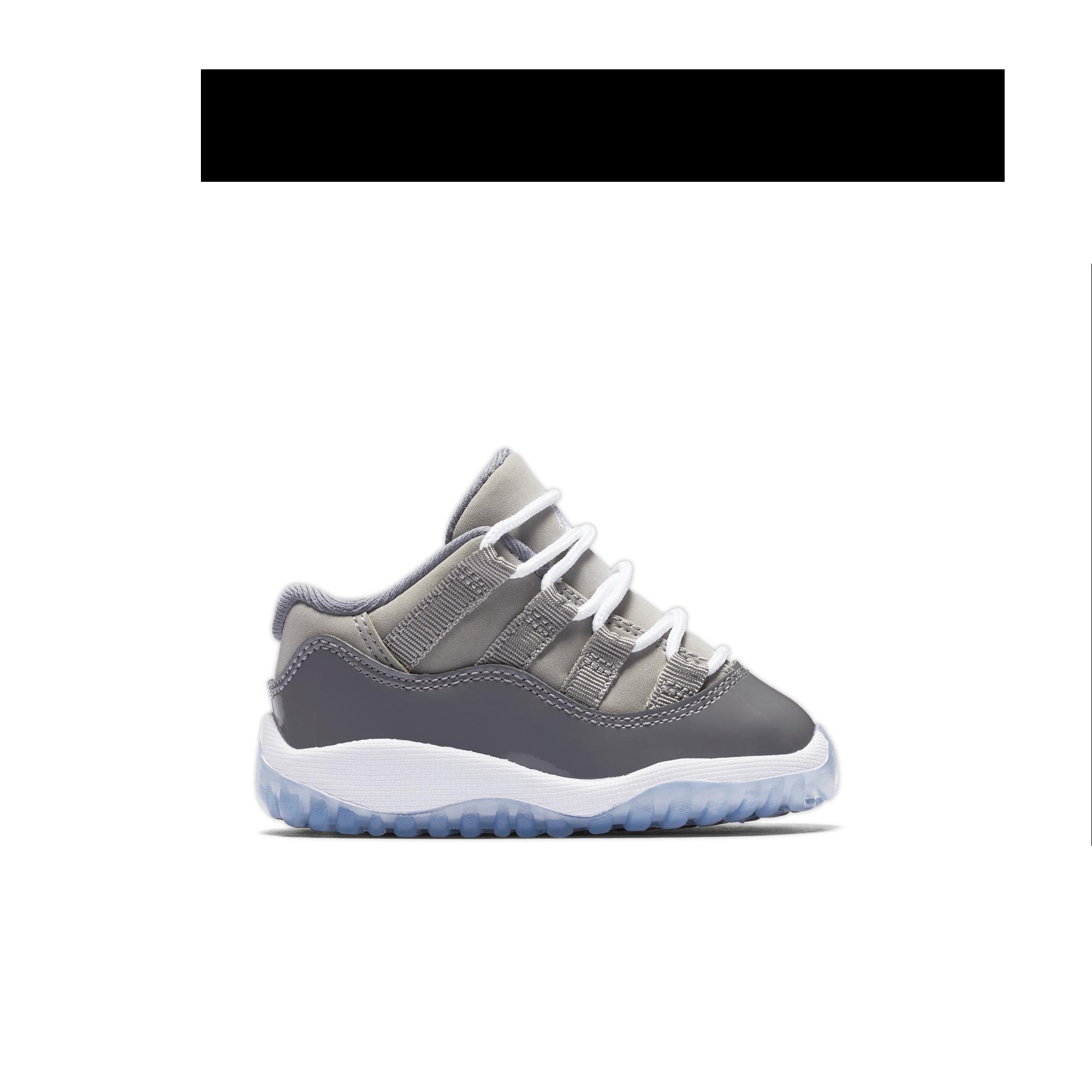 Air Jordan 11 Chaussures Basses Tout-petits Gris Froid escompte bonne vente  akQQ0oK