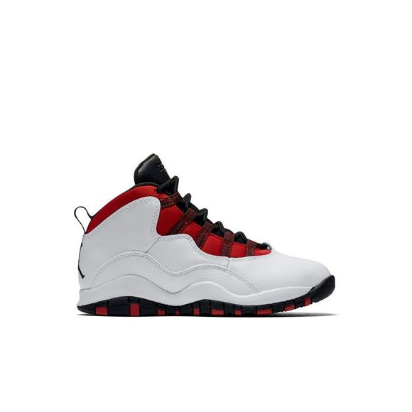 7c5932d89e3 ... ebay jordan retro 10 white black university red hyper royal preschool  kids 8911e 202e7