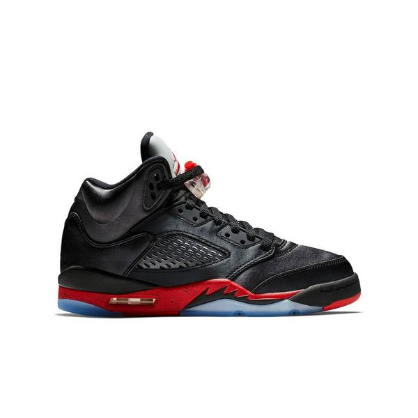 low priced c16a2 f3465 Display product reviews for Jordan 5 Retro -Black Satin- Grade School Kids   Shoe