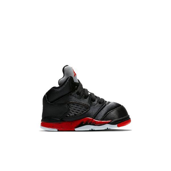 the latest 7ba24 c1a7d Display product reviews for Jordan 5 Retro -Black Satin- Toddler Kids  Shoe