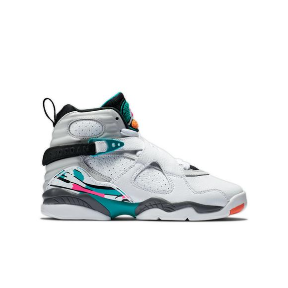 huge discount 49521 90266 ... get jordan 8 retro white turbo green grade school kids shoe main b4e13  dfeba