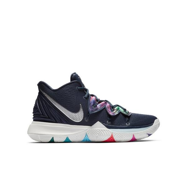 8a36fb33 Display product reviews for Nike Kyrie 5 -Multicolor/Metallic Silver- Grade  School Kids