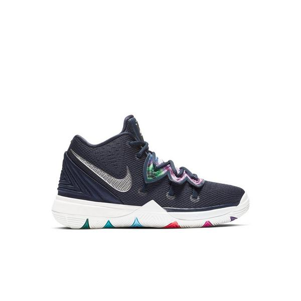 b3b4dd72346045 Display product reviews for Nike Kyrie 5 -Multicolor Metallic Silver-  Preschool Kids