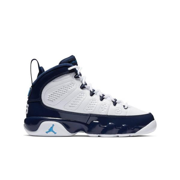 new arrival f444d af5f9 Display product reviews for Jordan 9 Retro -White University Blue- Grade  School Kids