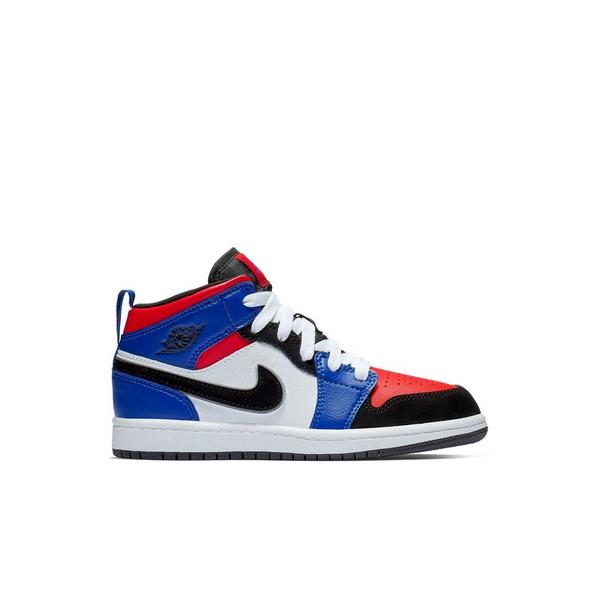ab4992abd6d Display product reviews for Jordan 1 Mid -White/Hyper Royal/Red- Preschool
