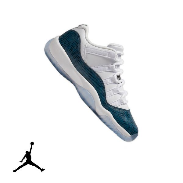 promo code 07e2d 6f40f Display product reviews for Jordan 11 Retro Low -White Navy Snakeskin- Grade  School
