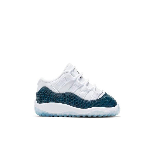 e6139e977ce Display product reviews for Jordan 11 Retro Low -White/Navy Snakeskin-  Toddler Kids