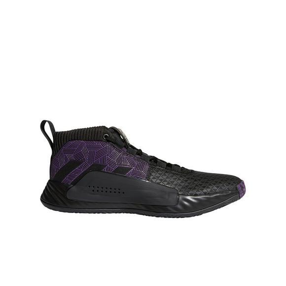 Astounding Adidas X Marvel Dame 5 Black Panther Grade School Kids Basketball Shoe Bralicious Painted Fabric Chair Ideas Braliciousco