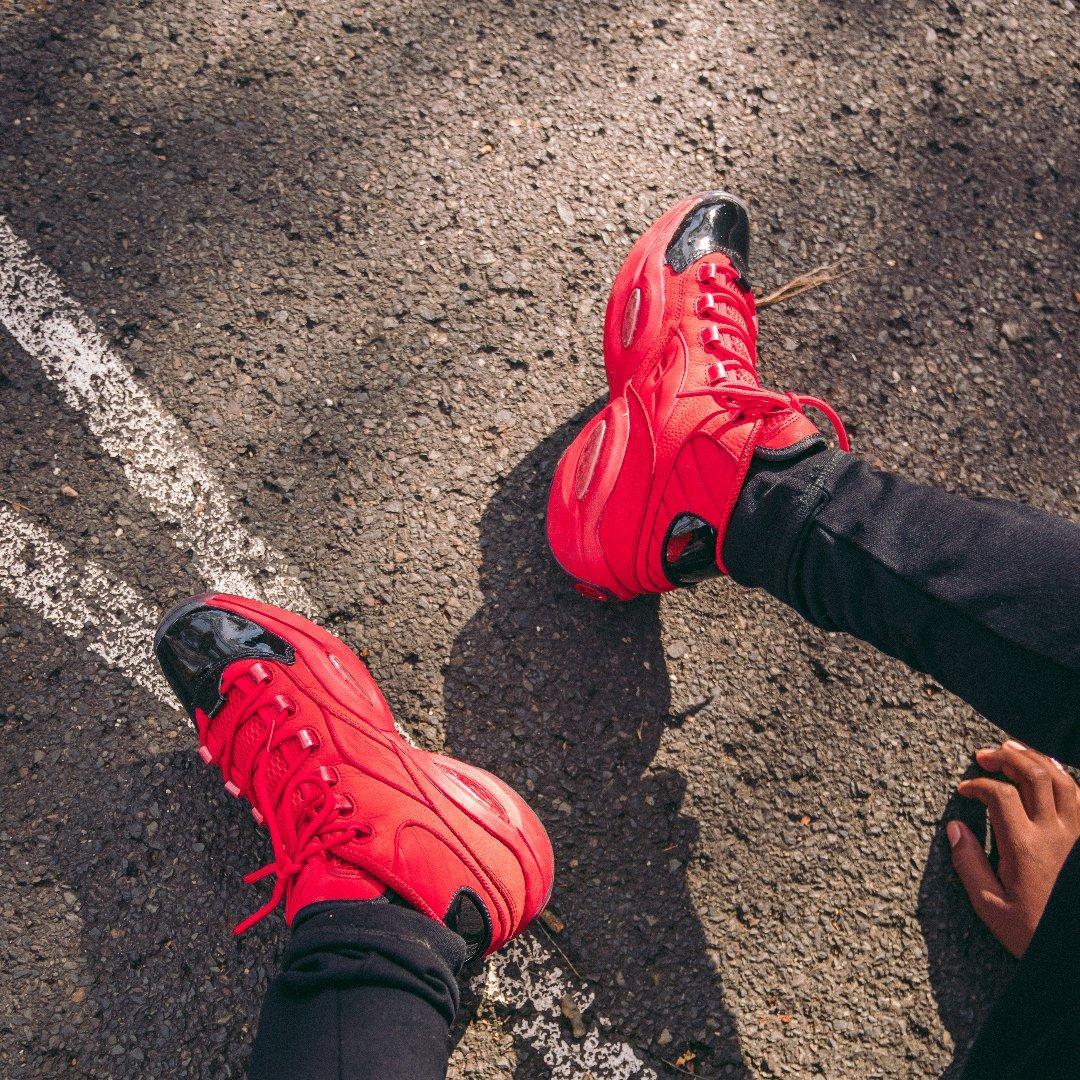Sneakers Release Reebok Question Mid Heart Over Hype Black Scarlet