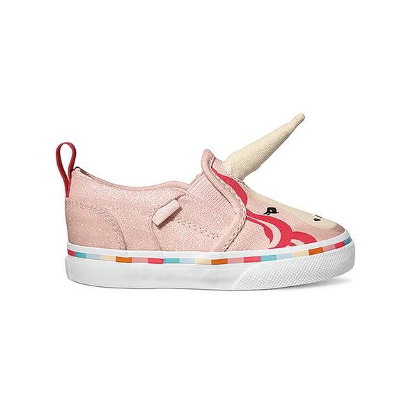 bb67ca23704 Vans Asher V Unicorn Toddler Girls  Skate Shoe - Main Container Image 1