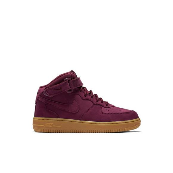 quality design bc417 8e614 Nike Air Force 1 Mid WB Preschool Kid s Shoe - Main Container Image 1