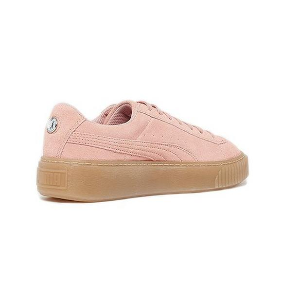02d8fec778bf Puma Suede Platform Jewel Grade School Girls  Shoe - Main Container Image 3