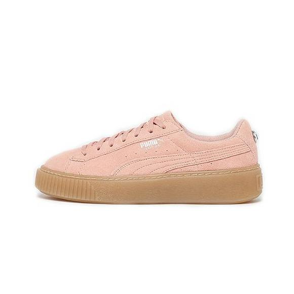 48a30928ab7 Puma Suede Platform Jewel Grade School Girls  Shoe - Main Container Image 1