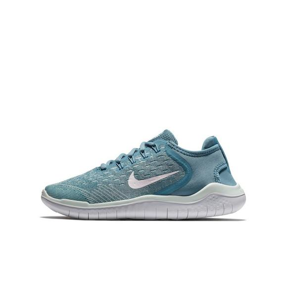 0d66a64eb754f Nike Free RN 2018 Grade School Girls  Running Shoe - Main Container Image 3