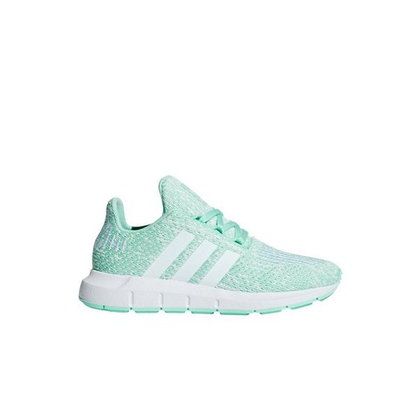 buy popular f9cf0 43cad Display product reviews for adidas Swift Run -Mint- Preschool Girls  Shoe