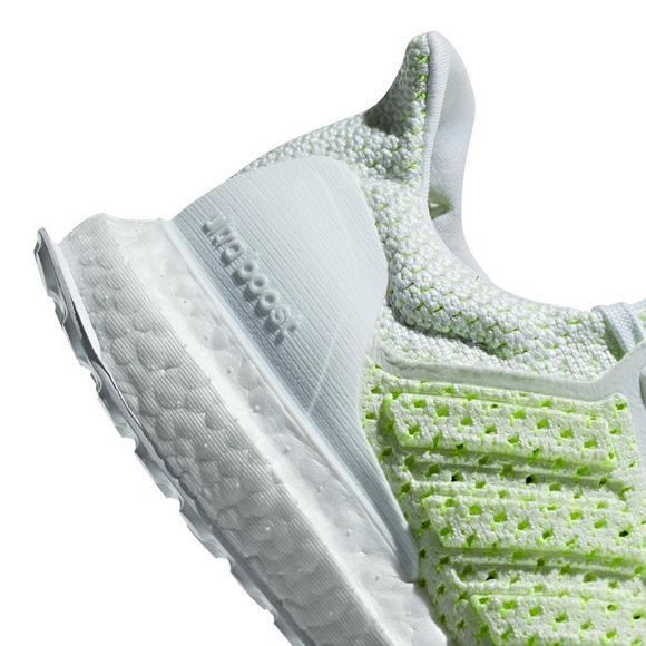 Adidas Ultraboost Clima Whitesolar Yellow Grade School Kids Shoe