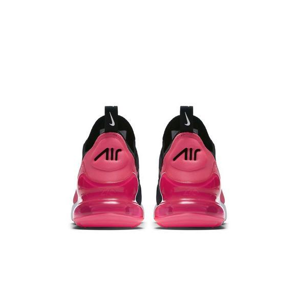 fa6b4ed5 Nike Air Max 270 Knit Jacquard Grade School Girls' Shoe - Hibbett US