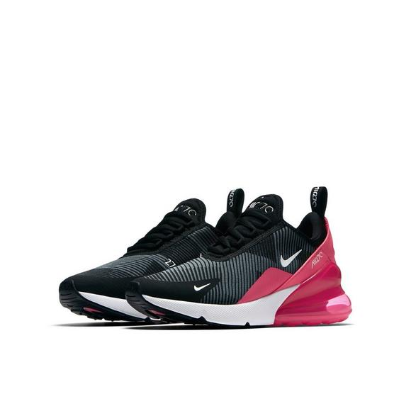 the latest a3a99 9ed79 Nike Air Max 270 Knit Jacquard Grade School Girls' Shoe ...