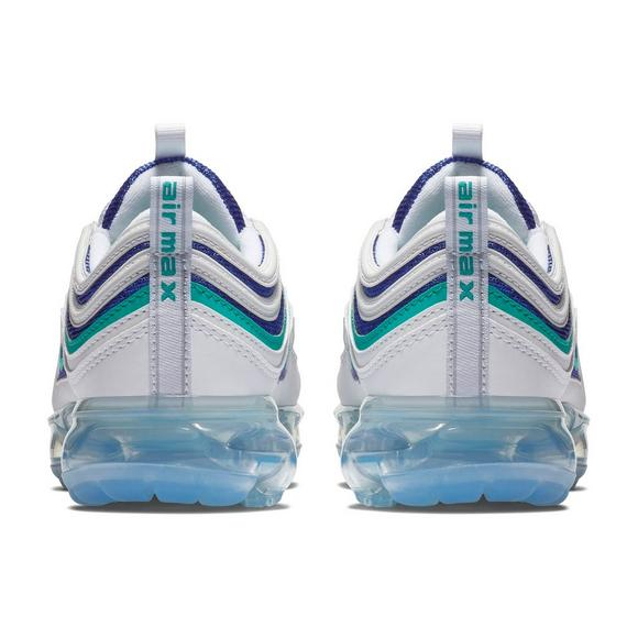 newest 7ea61 5dd75 ... purchase nike air vapormax 97 white indigo burst grade school kids shoe  3e0fd ef8bc