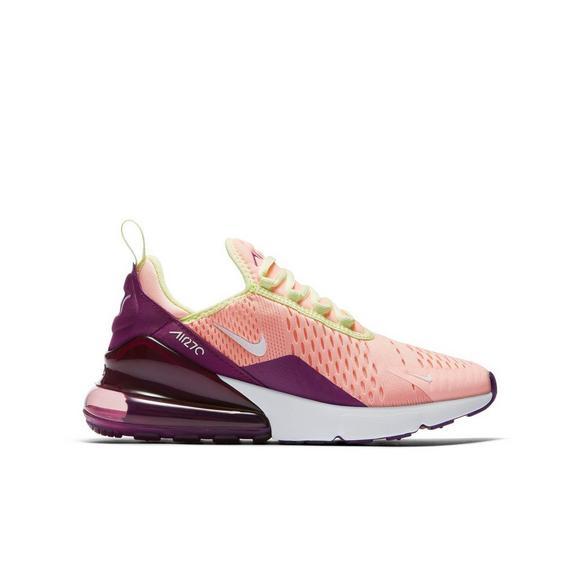 Air Pinkpurplecitron School Grade Shoe 270 Max Nike Kids' Nw0m8vOn