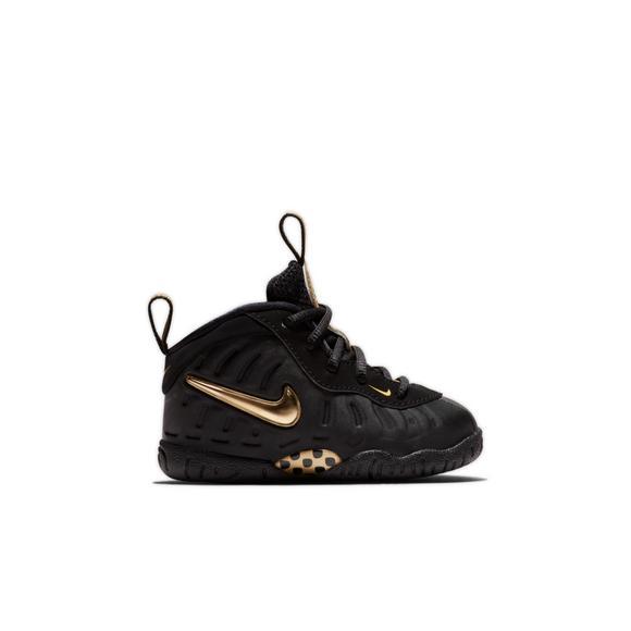 914b2ce8661 ... amazon nike little posite pro black metallic gold toddler kids shoe  main 6315c 9817b