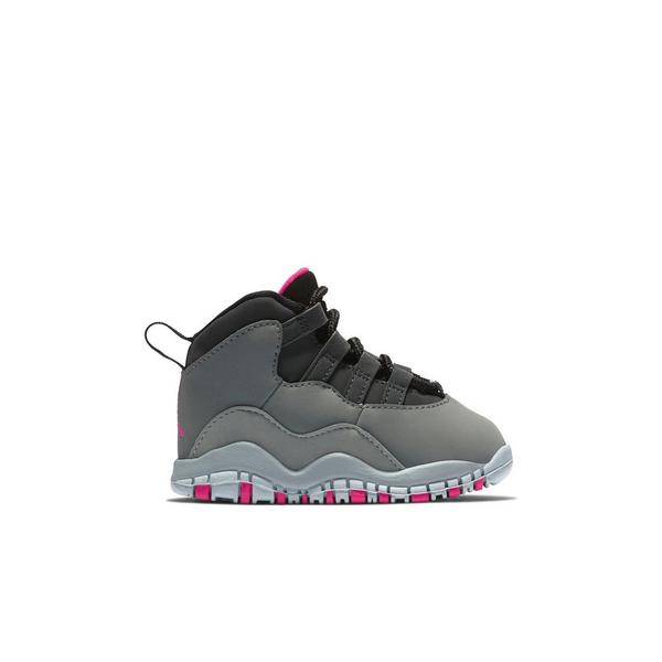 e2b24299a8e Display product reviews for Jordan 10 Retro -Smoke Grey/Rush Pink- Toddler  Girls