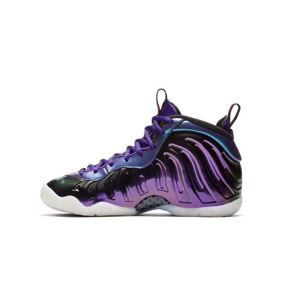 separation shoes 7feaa 41e5a germany nike foamposite electric blå lyserød laces 372e0 6a4d8