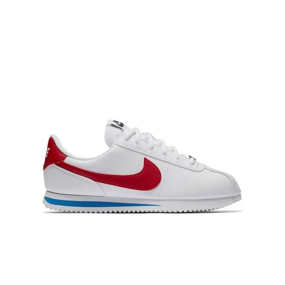 nike white and red