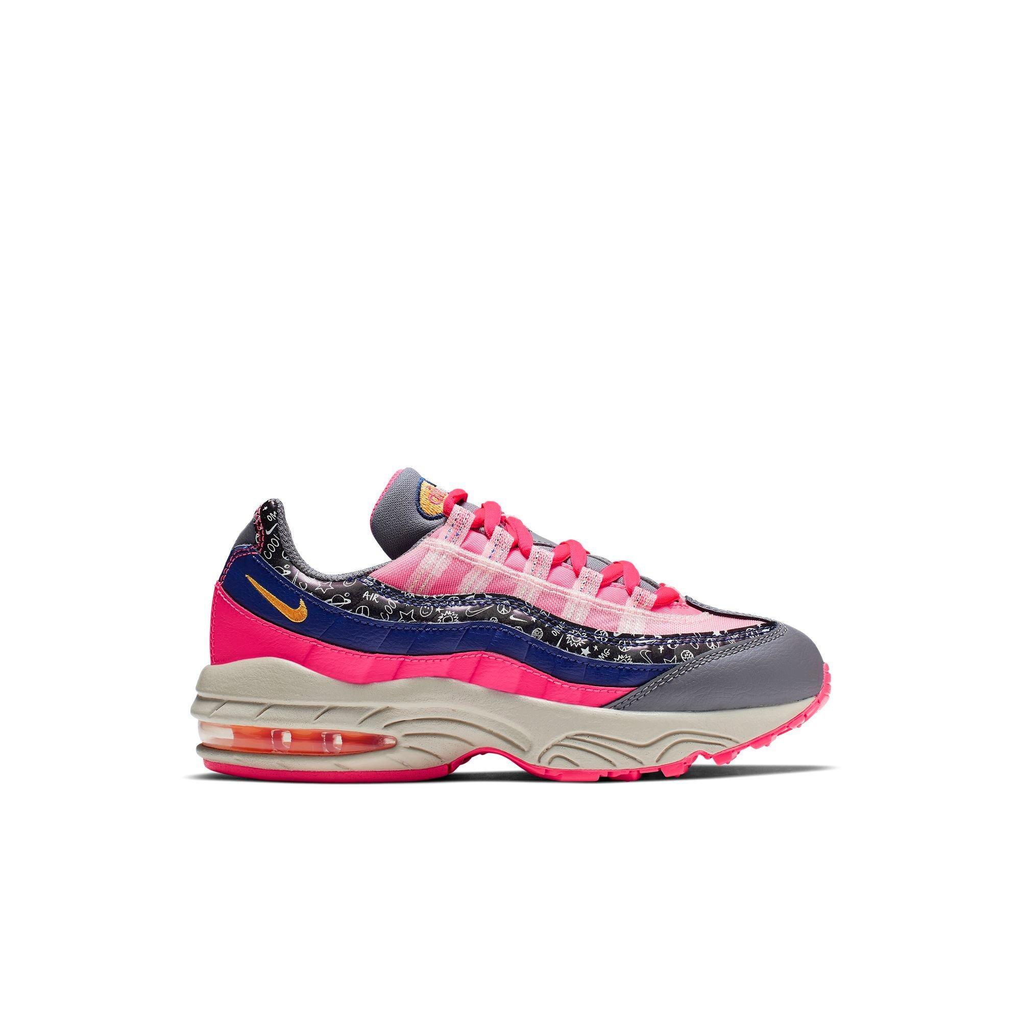 Nike Air Max 95 BlackBule Men's Lifestyle Shoes NIKE CIU013668