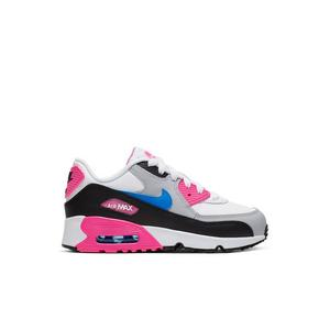 NIKE Air Max 90 Infants Sneakers White and Photo Blue