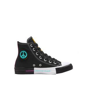 Converse Chuck Taylor All Star Seek Peace Grade School Girls' Shoe