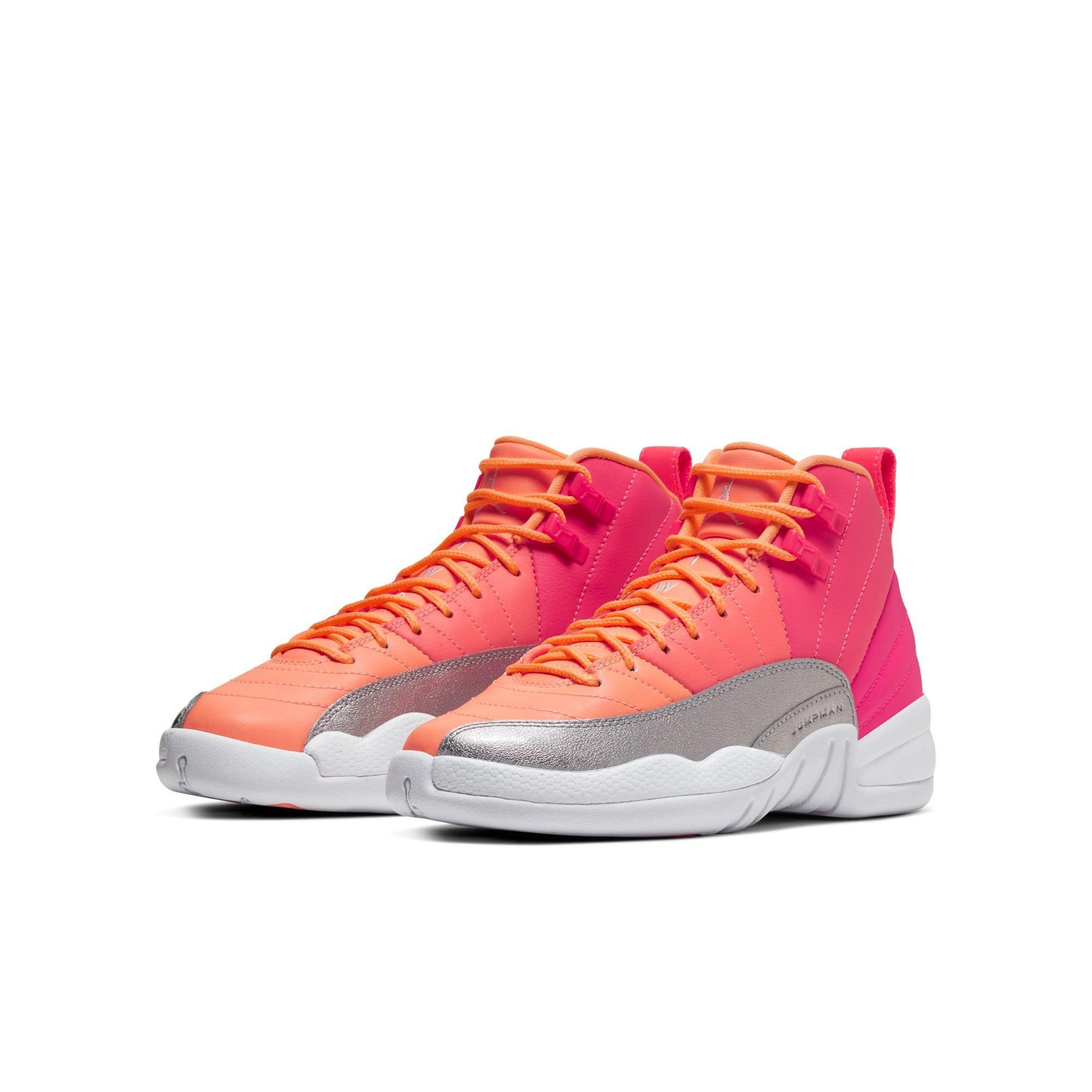 "Sneakers Release   Jordan Retro 12 ""Racer Pink/White/Hot Punch"