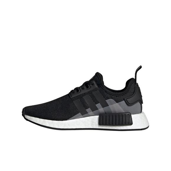 Adidas Nmd R1 Black Grade School Girls Shoe Hibbett City Gear