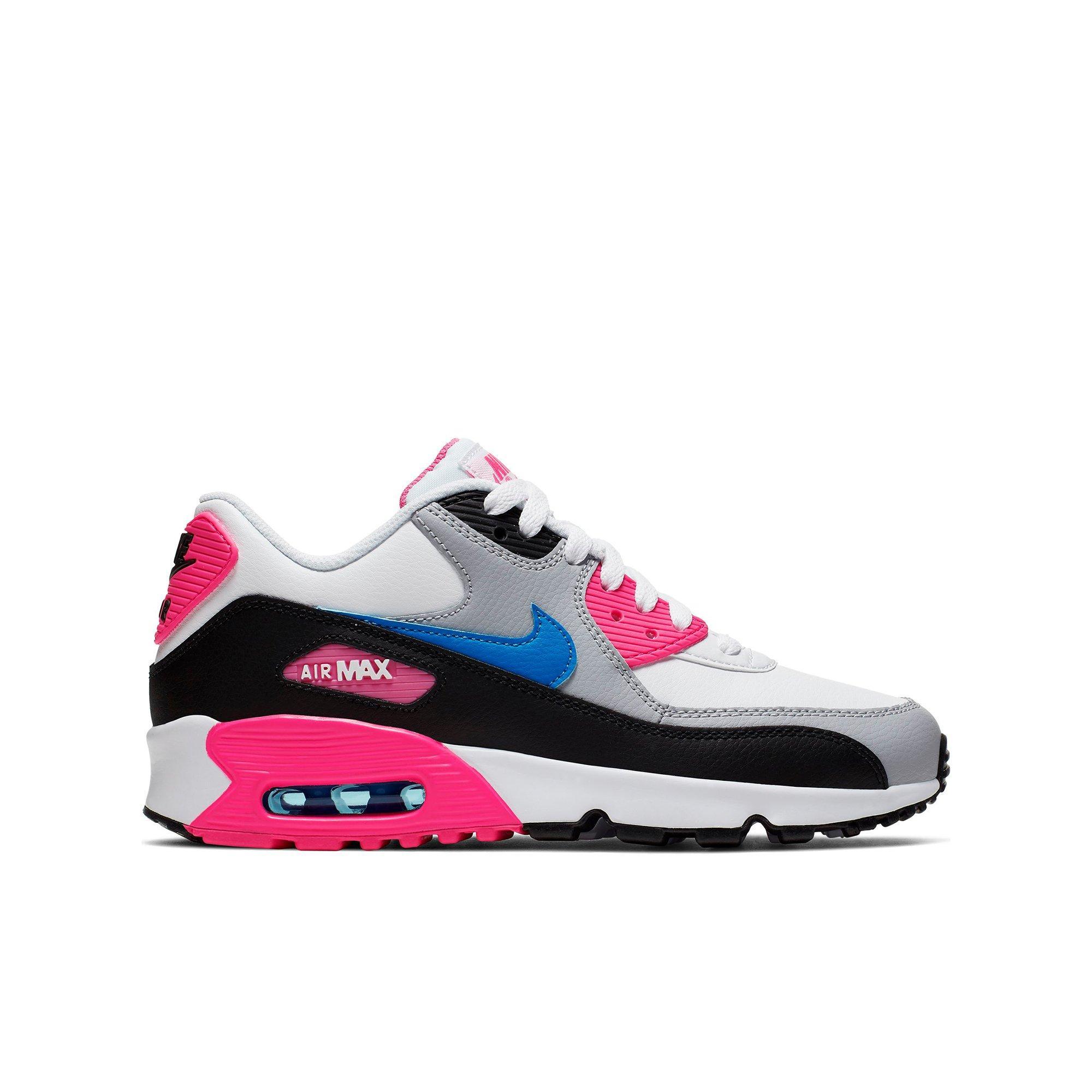 pink and blue air max