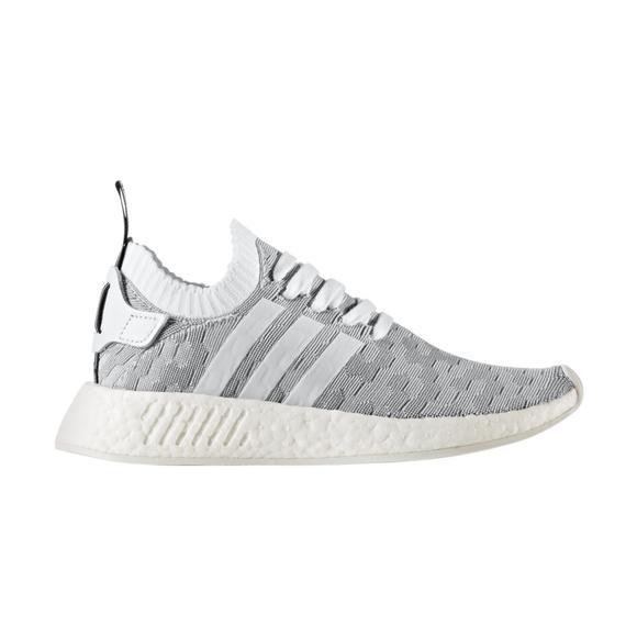 Nmd Primeknit Women's Whitegrey Shoe Adidas Hibbett Us Casual R2 RTdqxw7