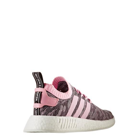 Adidas Wmns Nmd R2 Primeknit Pink Black