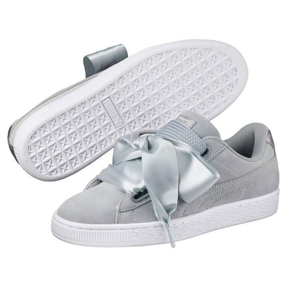 puma basket sneakers metallic