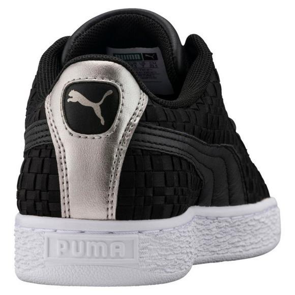 Puma Basket Satin En Pointe Sneakers for Women Grey