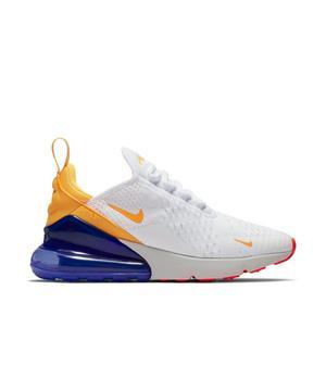 Nike Air Max 270 White Laser Orange Violet Women S Shoe