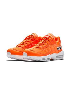 men's nike air max 95 se jdi casual shoes orange