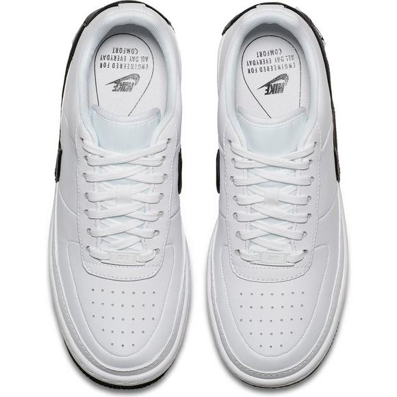 Nike Air Force 1 Jester Xx White Black Women S Shoe Hibbett Us