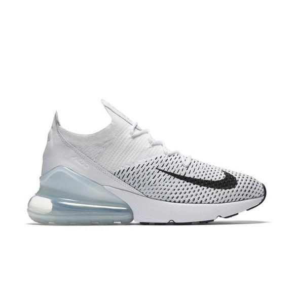 Nike Air  Max 270 Flyknit Blanco  Air Pure Platinum Zapato De Las Mujeres 7629de