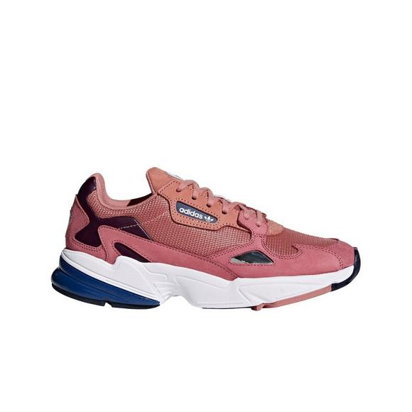 Adidas Falcon Dark Pink Women S Shoe Hibbett Us