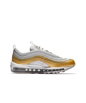 Nike Air Max 97 Se Vast Grey Metallic Gold Women S Shoe