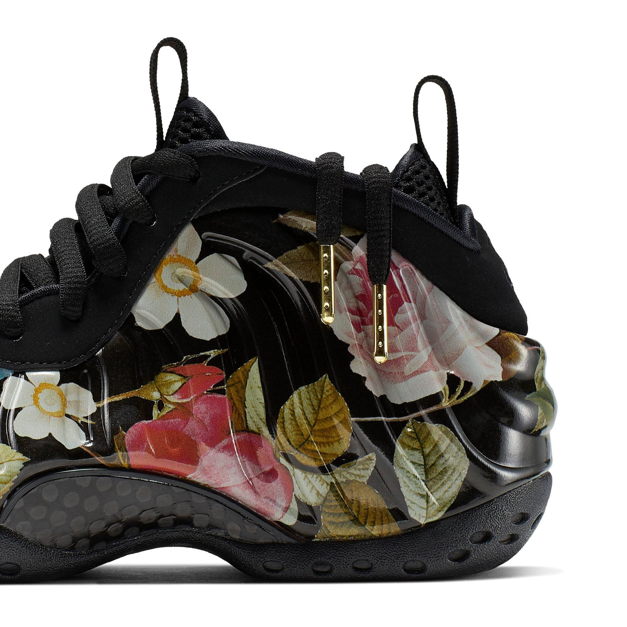 Nike Air Foamposite One Prm Black Suede Bmet