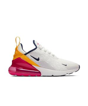 Nike Air Max 270 Summit White Laser Fuchsia Women S Shoe
