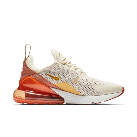 Nike Air Max 270 Women's Size 6 Light Cream Peach Running