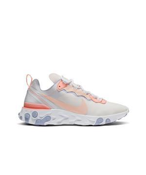 Nike Damen Sneaker React Element 55 Pale PinkWashed Coral