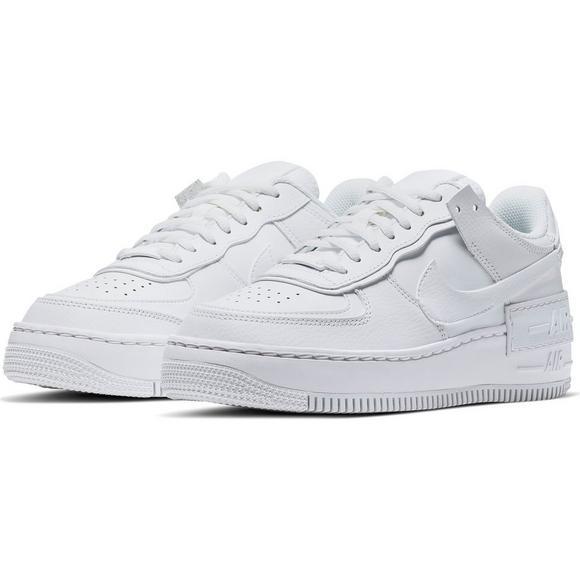 Nike Air Force 1 Shadow White Women S Shoe Hibbett City Gear Nike air force 1 shadow all black ci0919_001. nike air force 1 shadow white women s shoe